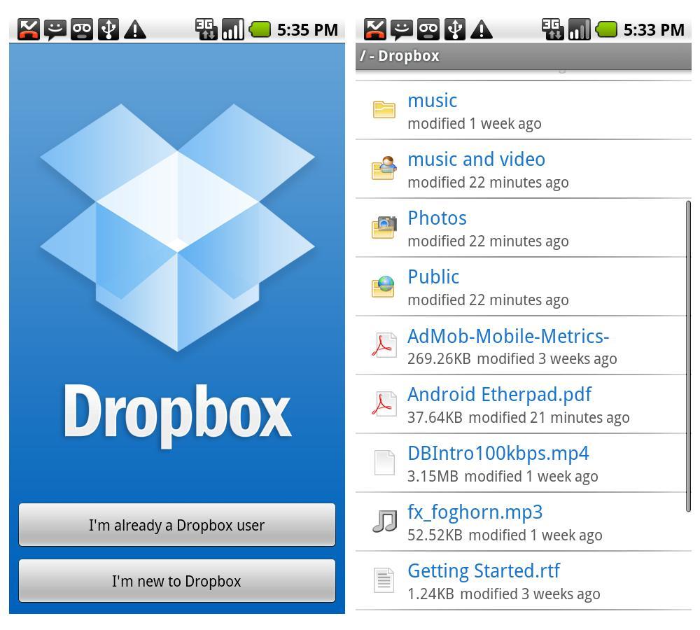 Dropbox скачать на андроид - фото 10