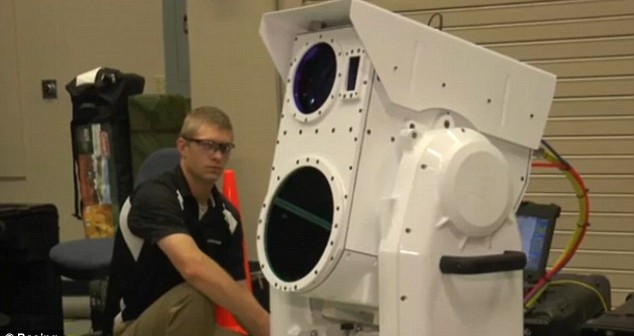 Boeing's New Laser Cannon – Silent & Invisible
